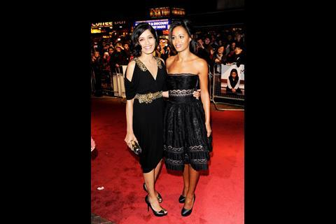 Star Freida Pinto and Miral's writer Rula Jebreal